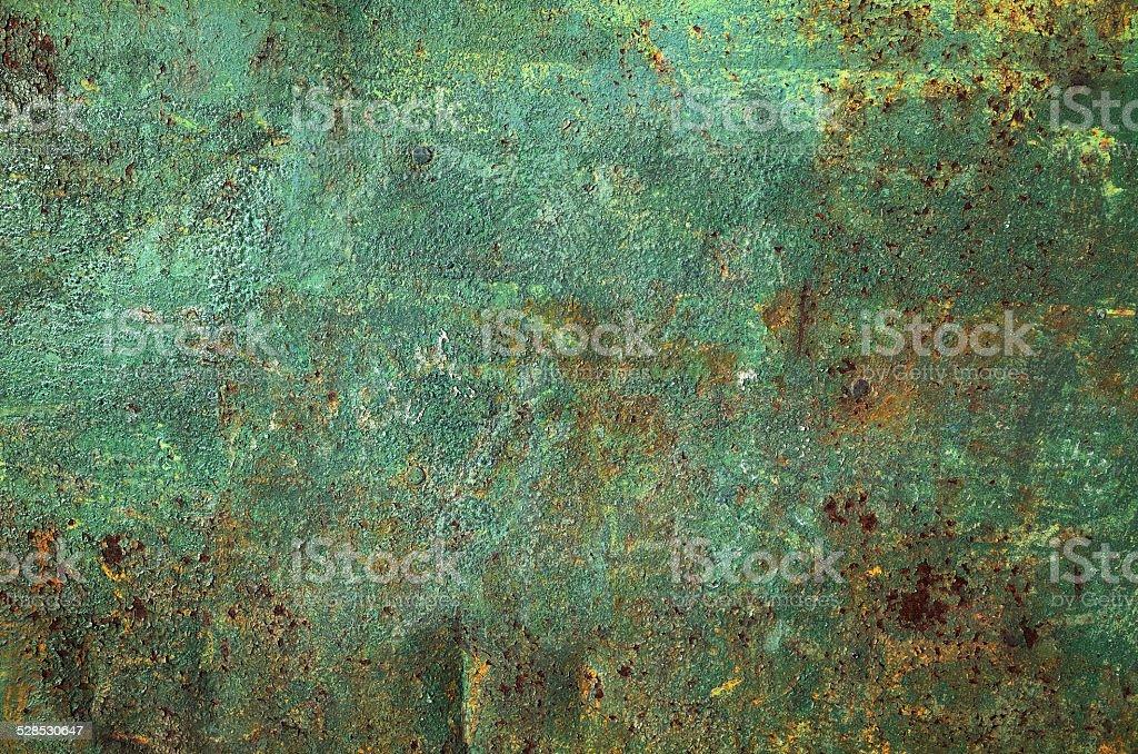 Metal textured wall stock photo