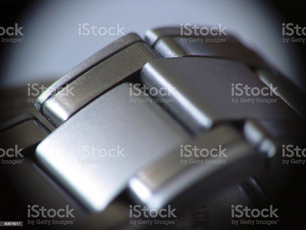 Metal time royalty-free stock photo