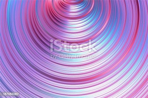 istock Metal tornado, gamma - abstract background. 187084062