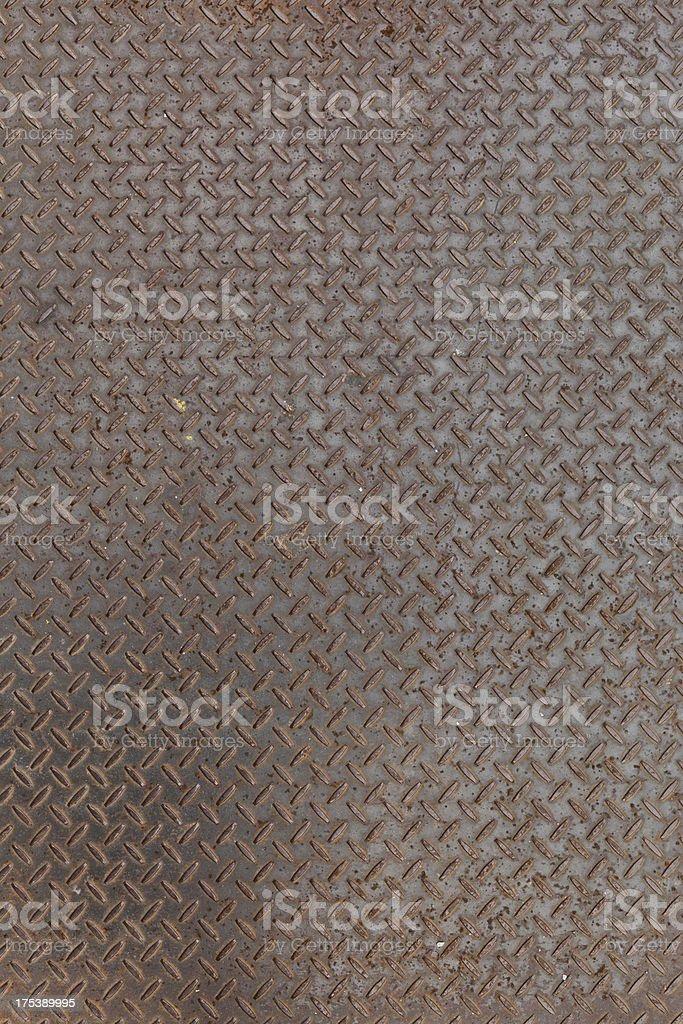 Metal tread plate royalty-free stock photo