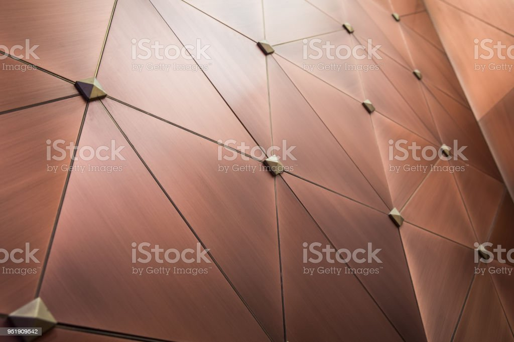 Metal wall background stock photo