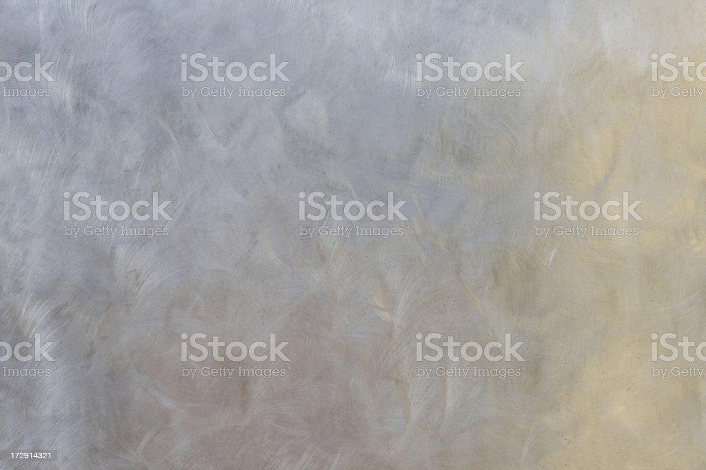 Metal wall - pastel abstract reflections stock photo