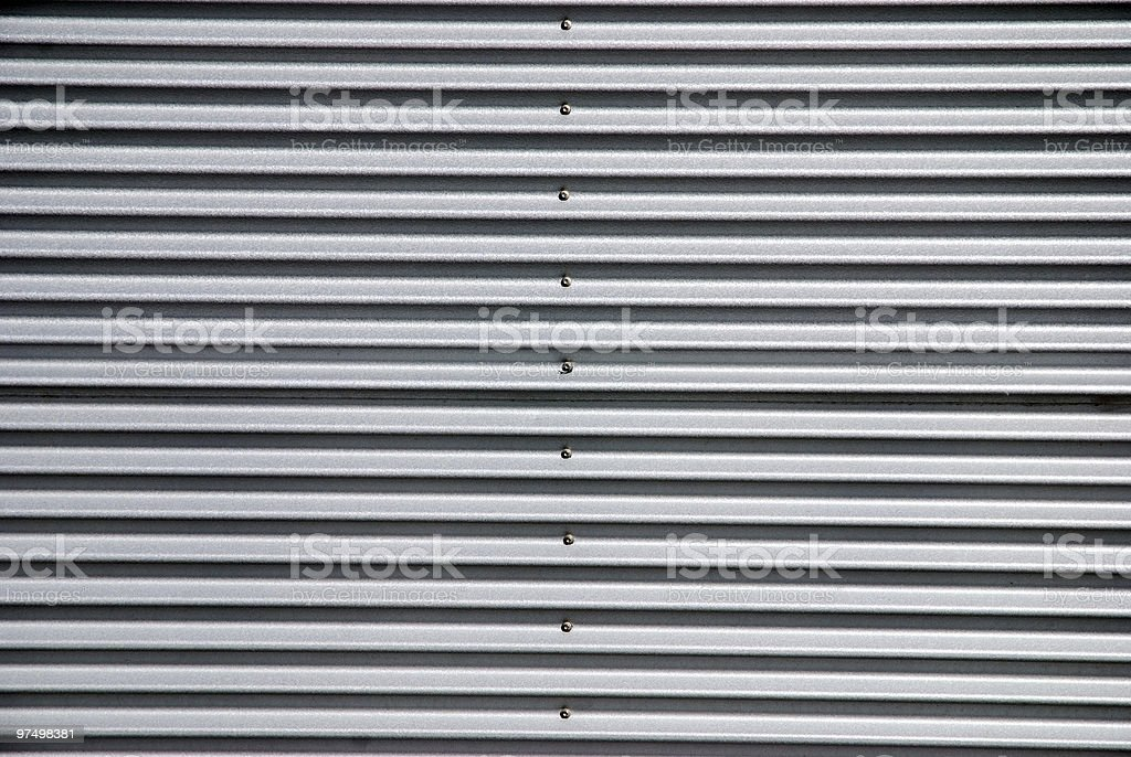 Metal wall royalty-free stock photo