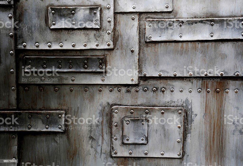 금속 벽 royalty-free 스톡 사진