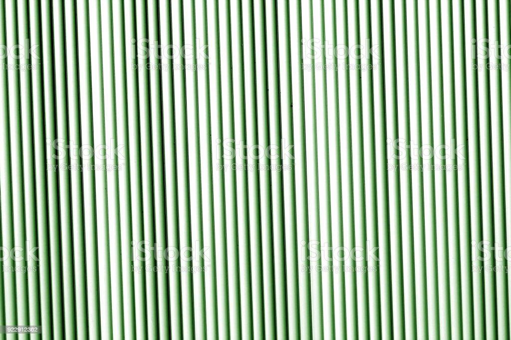 Metal wall texture in green tone stock photo
