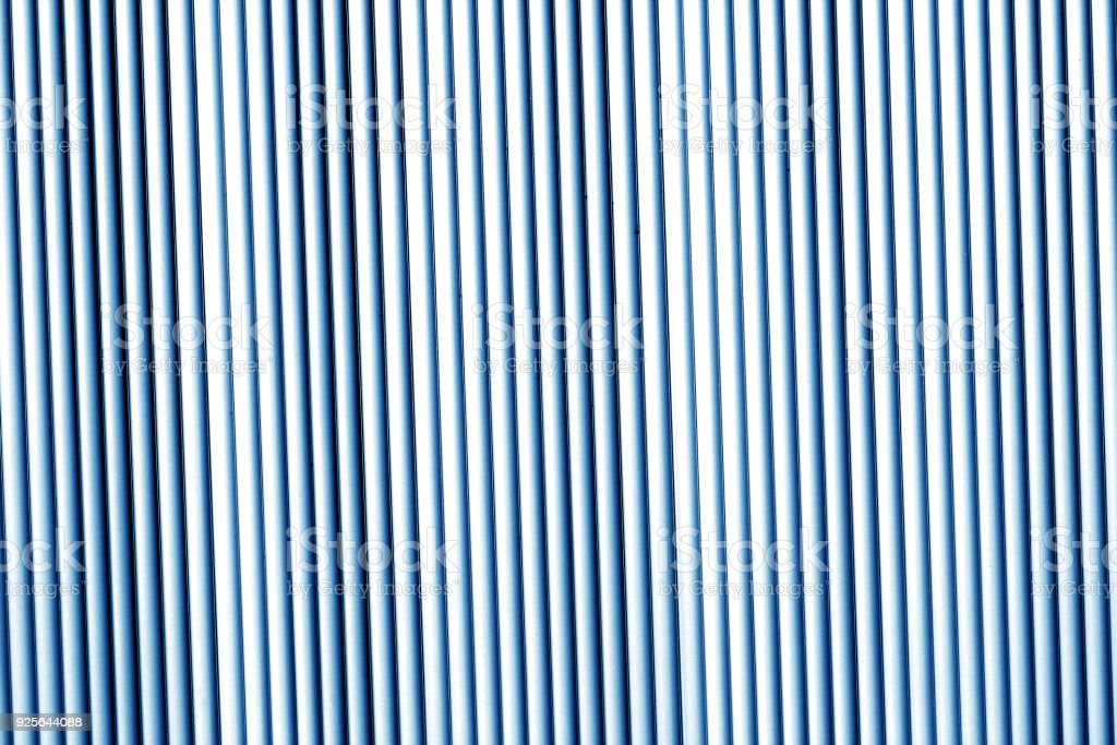 Metal wall texture in navy blue tone. stock photo