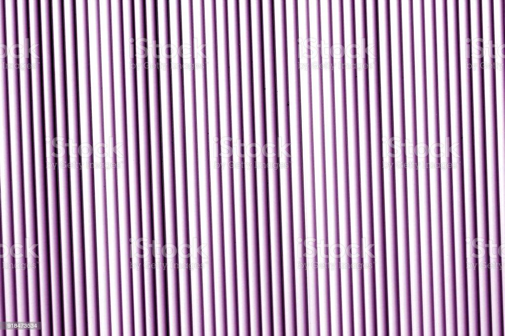Metal wall texture in purple tone. stock photo