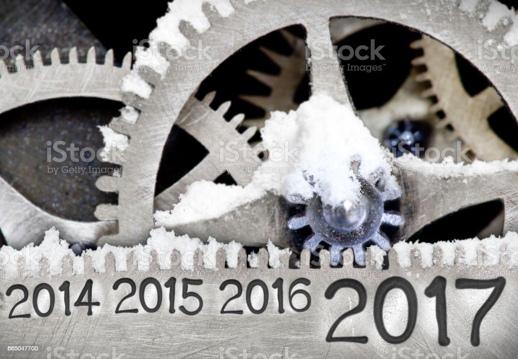 Metal Wheel Concept stock photo