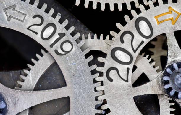Metal Wheels mit Neujahr 2020 – Foto