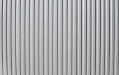 Metal white sheet for industrial building and construction. Roof sheet metal or corrugated roofs of factory building or warehouse.