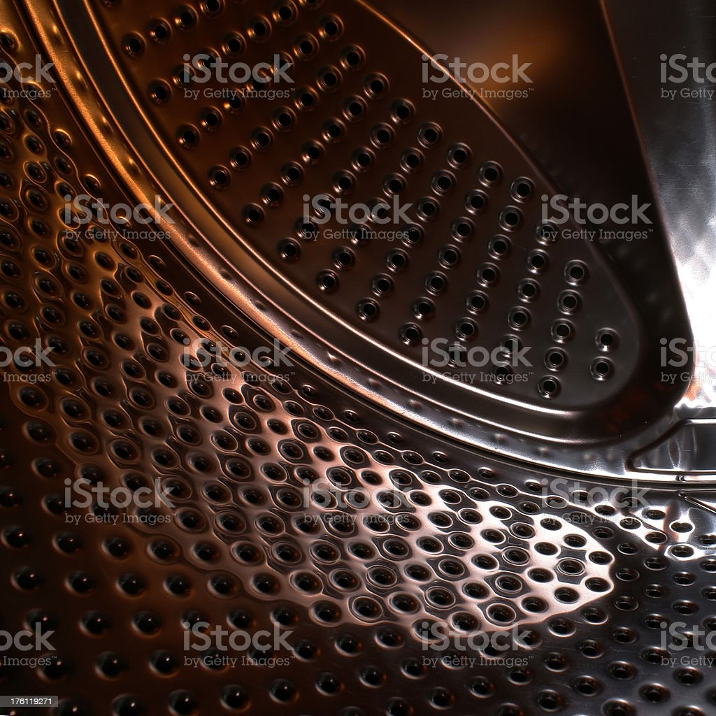 Metal with Holes royalty-free stock photo