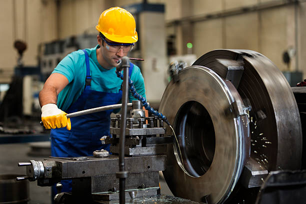 Metal Worker Factory stock photo