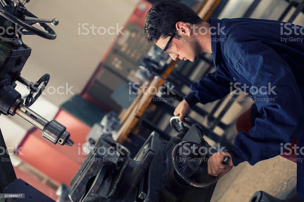 Metal Worker Factory stock photo