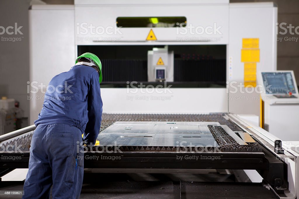 Metal Worker stock photo