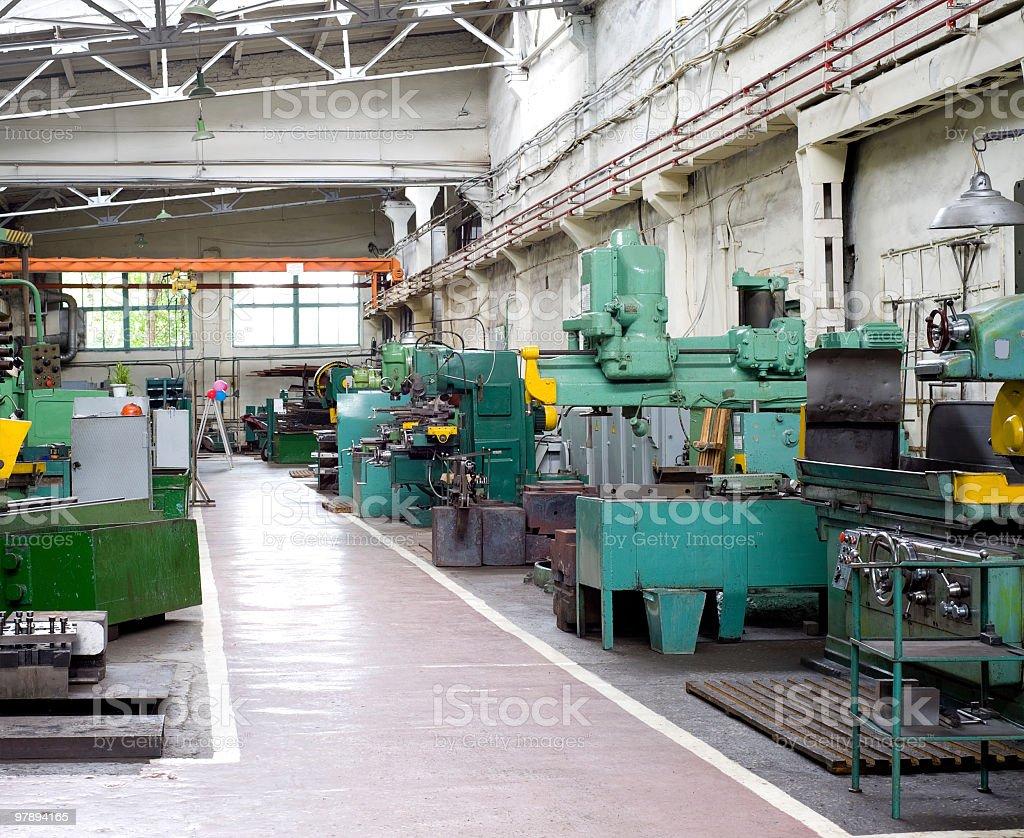 metal working shop royalty-free stock photo