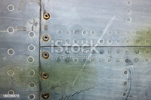 istock Metal XXXL Background With Rivets and Screws 185235573