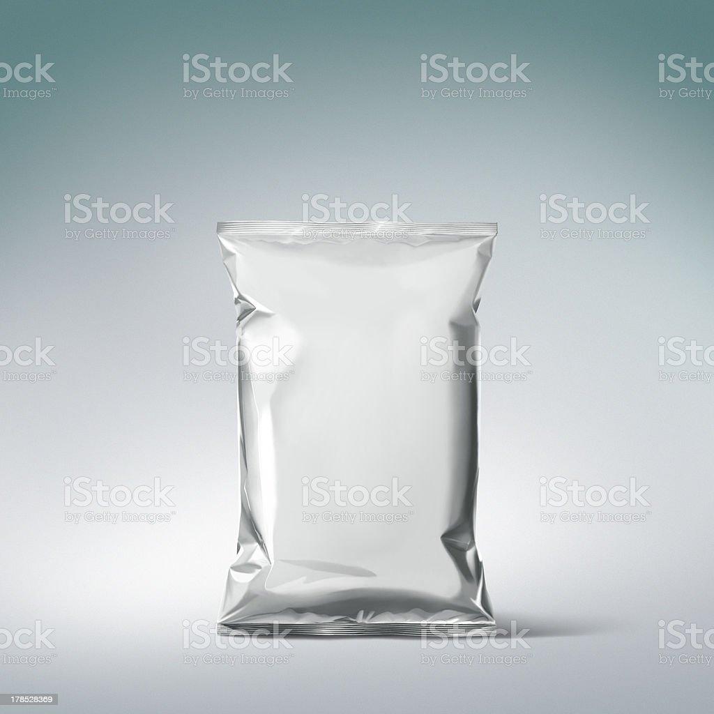metalic bag royalty-free stock photo