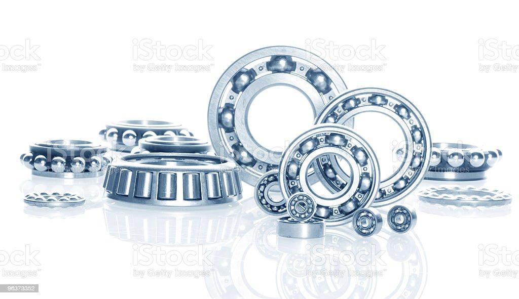 metall Ball bearings stock photo