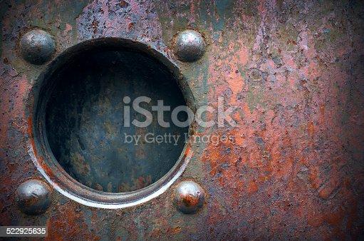 istock Metall window frame 522925635