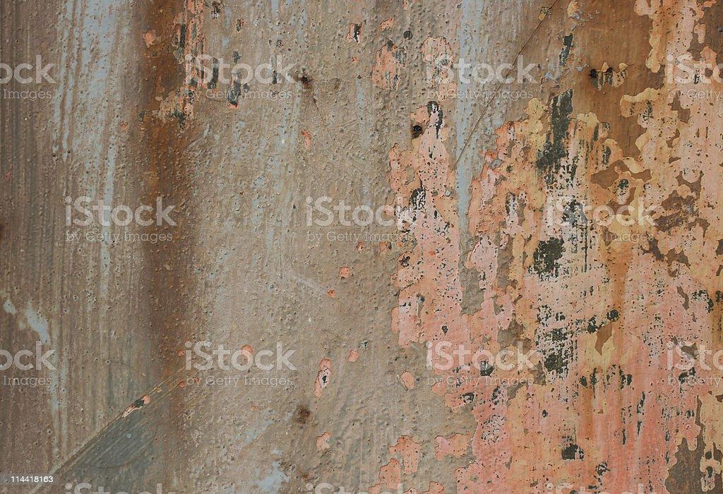 Metallic Abstraction royalty-free stock photo