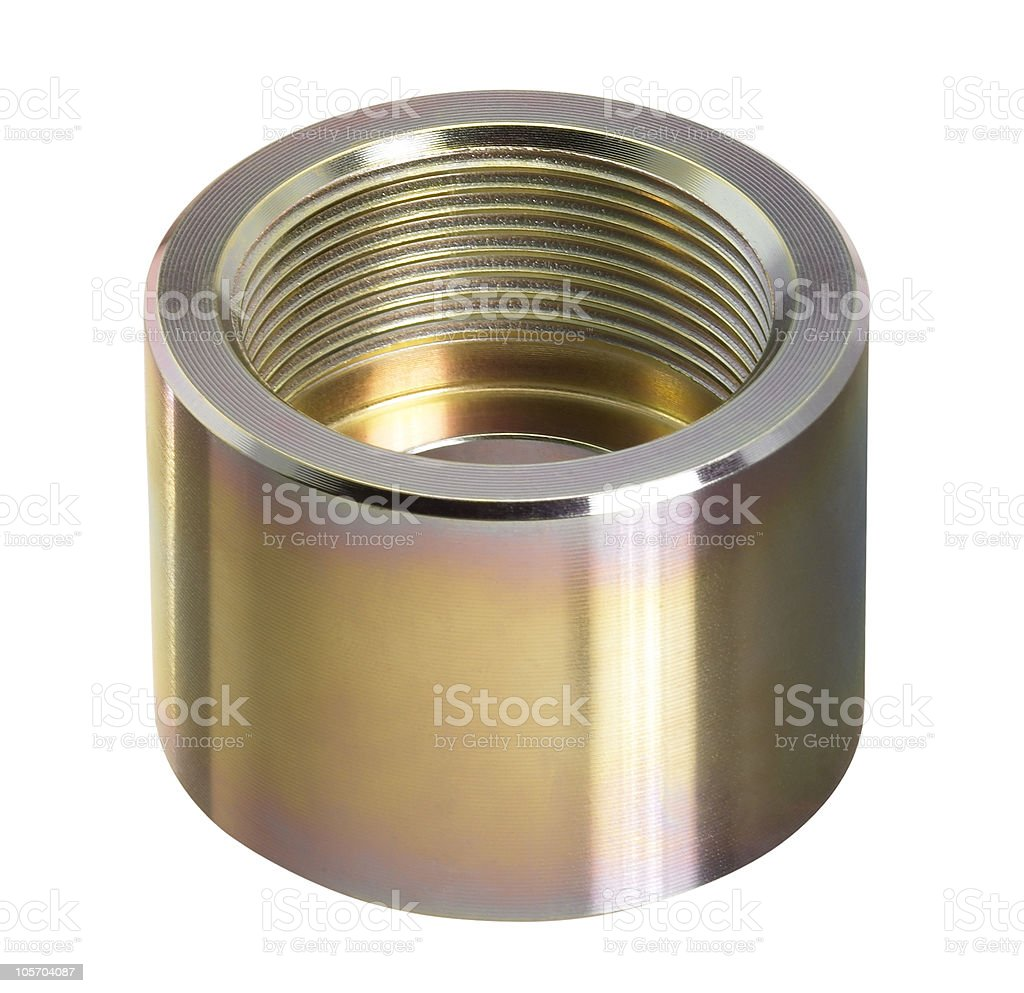 metallic adapter royalty-free stock photo