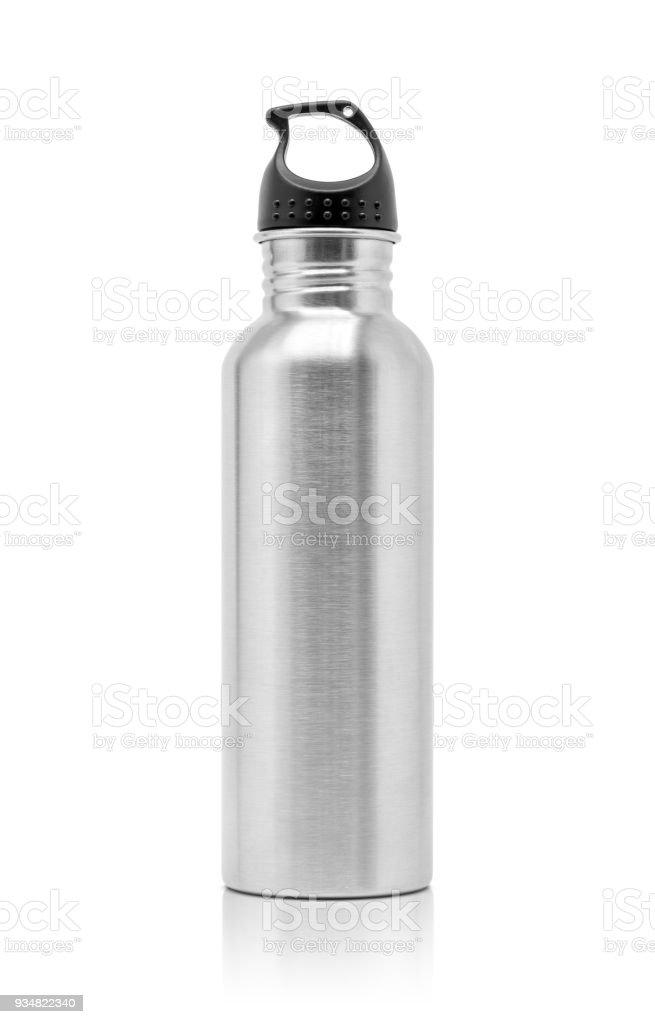 금속 알루미늄 물 스포츠 활동에 대 한 병을 마시는 - 로열티 프리 0명 스톡 사진