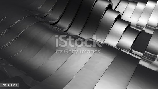 istock Metallic and wavy stripes 537400206