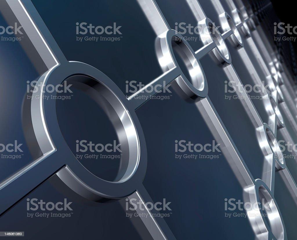 Metallic background royalty-free stock photo