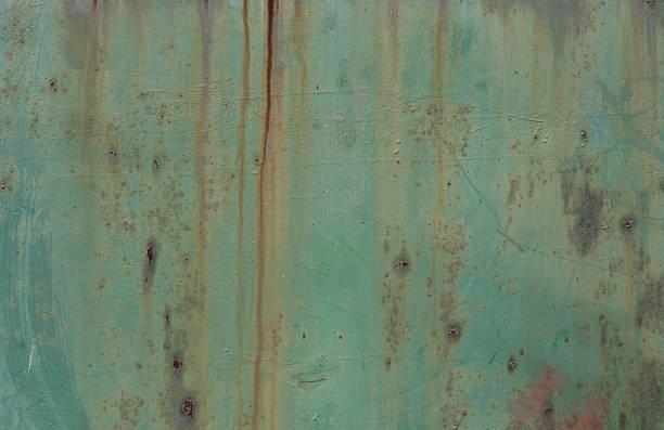 metallic-hintergrund - patina farbe stock-fotos und bilder