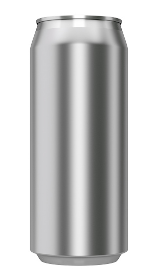 istock metallic can from front 471825087