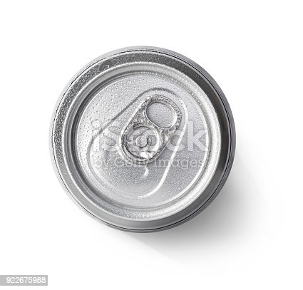 istock metallic can on white background 922675988