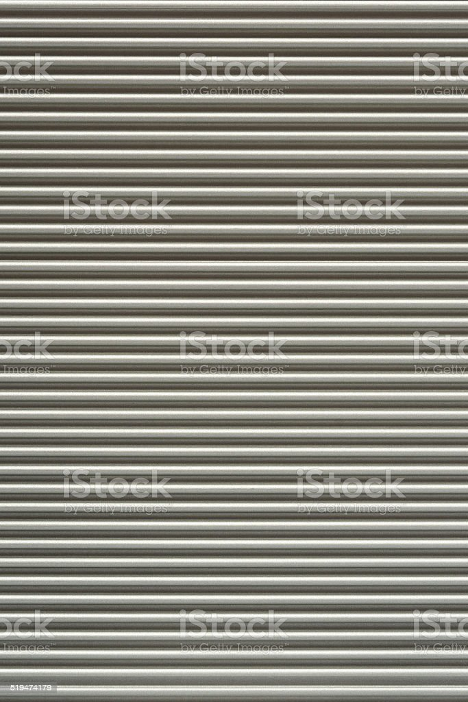 metallic corrugated background stock photo