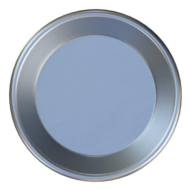 Metallic dog bowl - foto stock