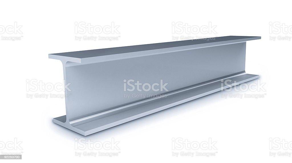 metallic joists stock photo