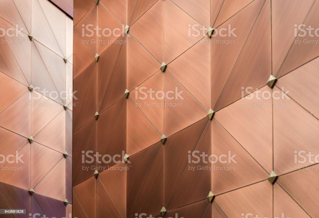 Metallic luxury background wall stock photo