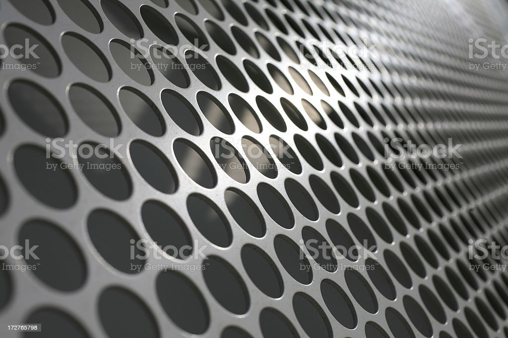 Metallic Mesh stock photo