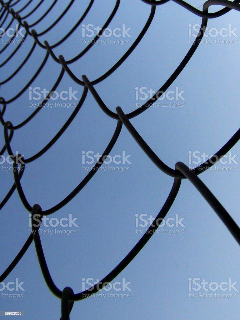 Metallic net royalty-free stock photo