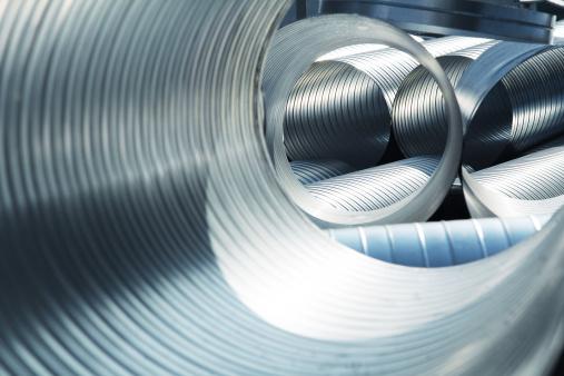 New metallic ventilation tubes