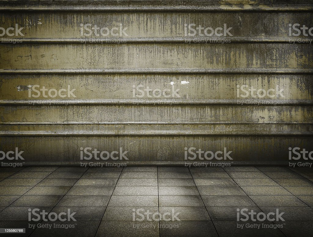 metallic room royalty-free stock photo