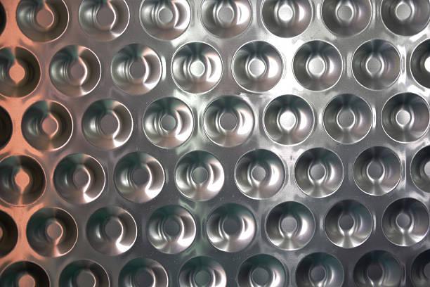 Metallic-Blatt – Foto