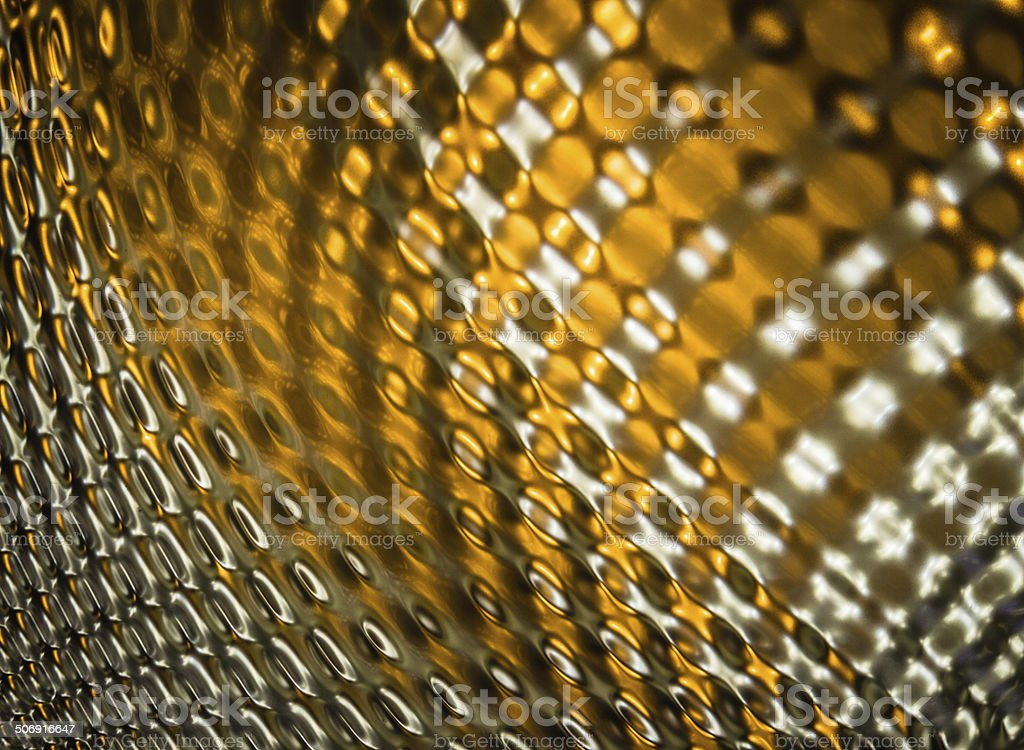 Metallic Spiral Abstract stock photo