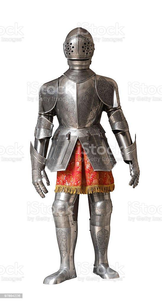 knight armour traje - foto de stock