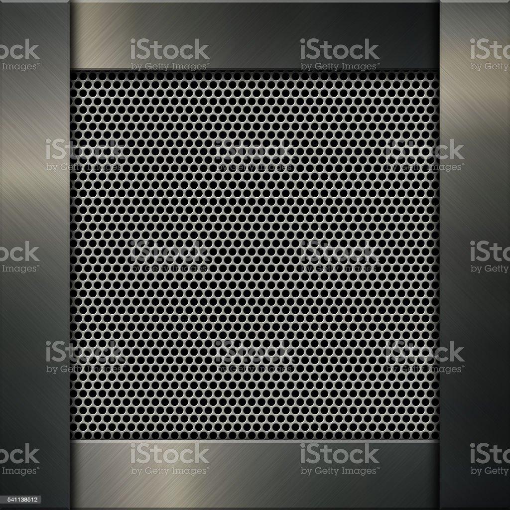Metallic texture background stock photo