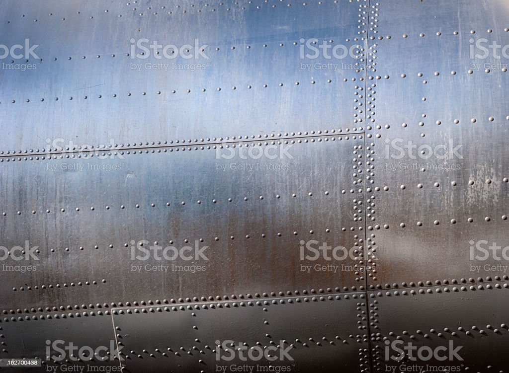 Metallic textured background stock photo