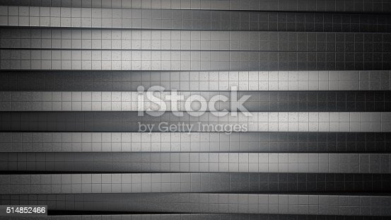 istock Metallic tiles abstract background 514852466