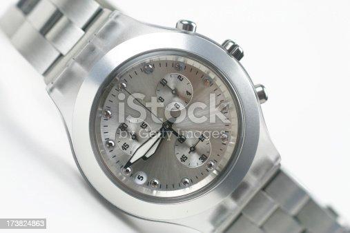 istock Metallic Watch 173824863