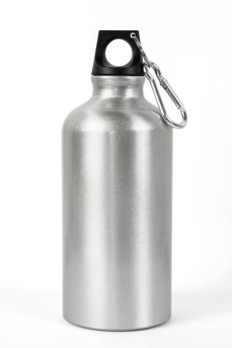 istock Metallic Water Bottle 451013769