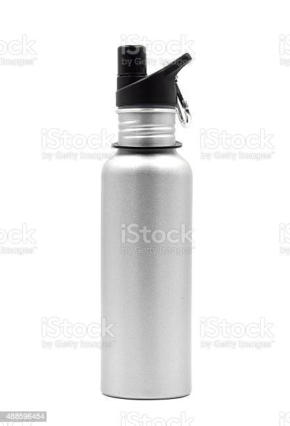 Metallic water bottle with a carabiner clip on white background picture id488596454?b=1&k=6&m=488596454&s=612x612&h=z8wxcgzwcde9iqlr1ifmvvaw9tfyl3 nf0bm771jrio=
