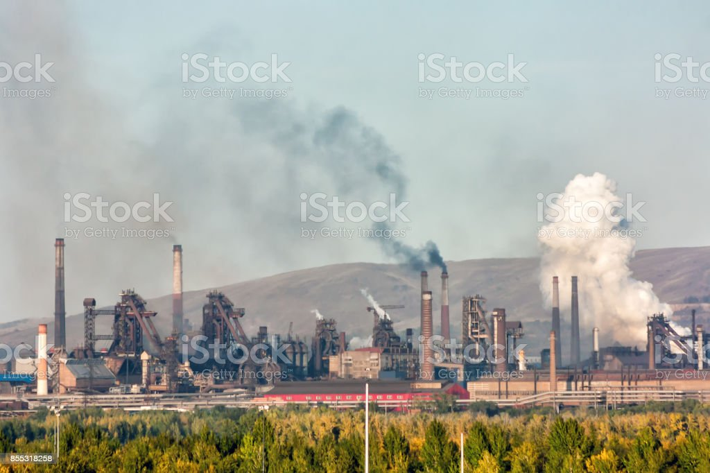 Metallurgical plant стоковое фото