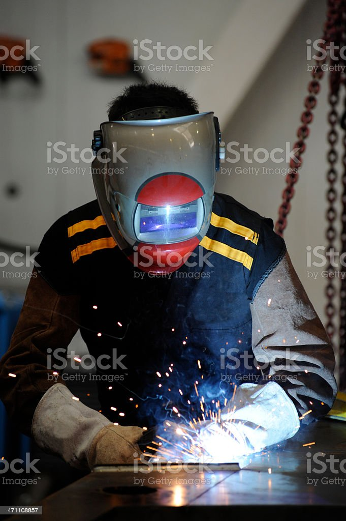 Metalworker royalty-free stock photo